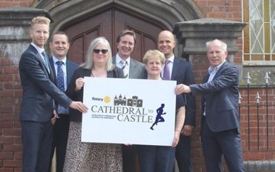 Sutton firm backs charity run between famous landmarks